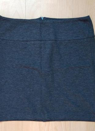 Бандажная юбка цвет графит
