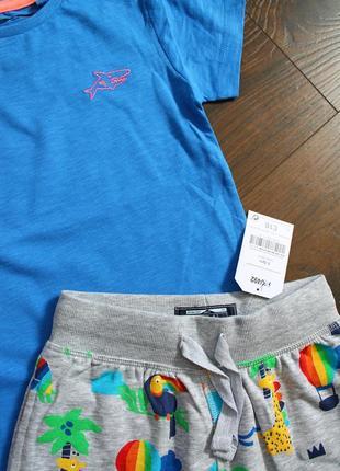 Набор next на 2-3 года (92-98см) футболка, шорты2 фото
