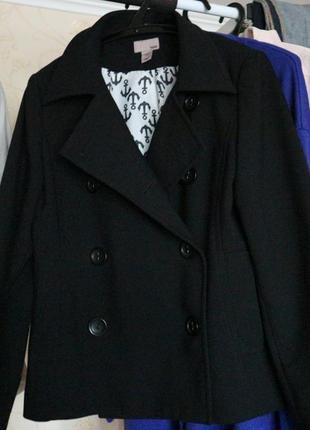 Весеннее короткое пальто классика