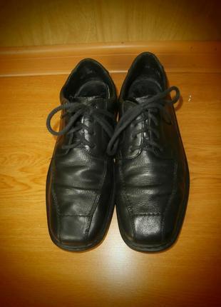 Брендовые туфли/нат.кожа/26,3 см