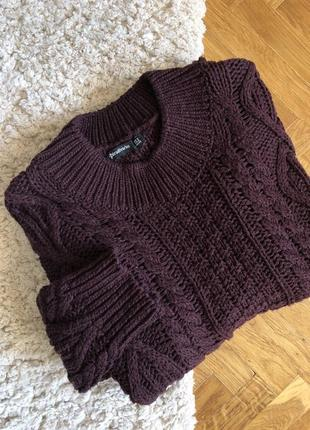 Хлопковый свитер
