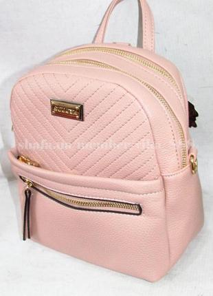 Рюкзак в городском стиле на два отделения 169 розовый