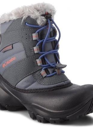 Columbia waterproof winter bootна ногу 24 см