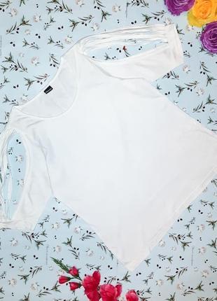 Стильная оригинальная белая блуза chillytime, размер 50 - 52
