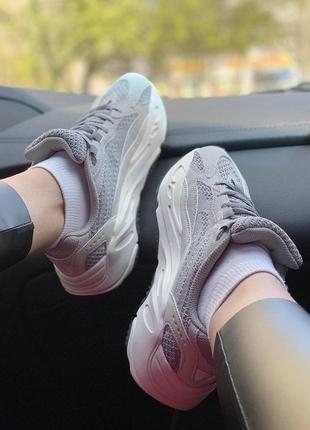 Крутые кроссовки adidas с рефлективными вставками -весна-лето-осень😍2 фото
