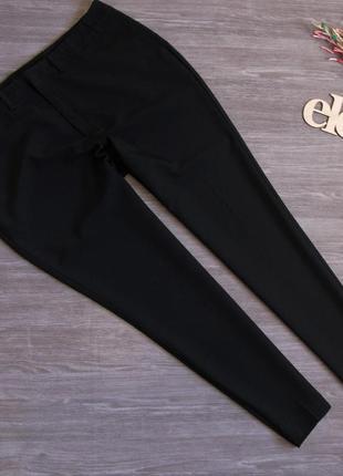 Черные брючки зауженные к низу ellos размер eur 48-50