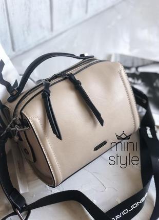 Сумка на длинной ручке cross-body сумочка трендовая и стильная кроссбоди david jones3 фото
