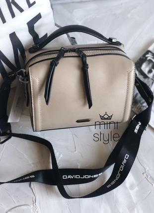 Сумка на длинной ручке cross-body сумочка трендовая и стильная кроссбоди david jones2 фото