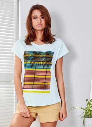 Женская футболка 17127