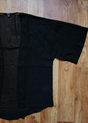 Летняя накидка кимоно оверсайз2 фото