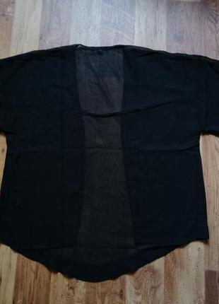 Летняя накидка кимоно оверсайз5 фото