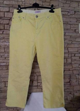 Укороченный стрейчевые джинсы батал