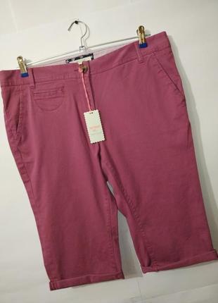 Новые хлопковые шорты капри бриджи white stuff uk 14/42/