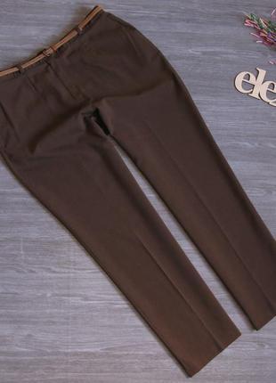 Стильные, легкие брючки 40 % шерсть размер eur 46-48