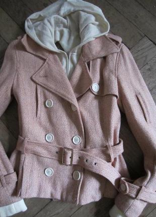 Стильное шерстяное пальто sela