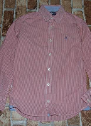 Хлопковая рубашка 10 лет