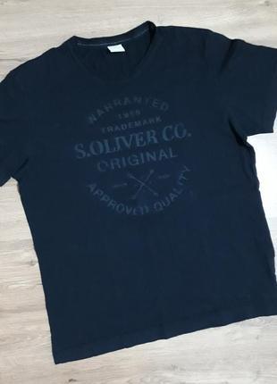 Идеально черная футболка от s.oliver