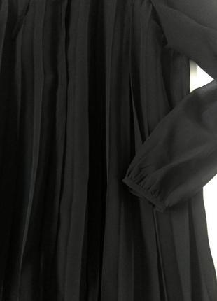 Шифоновое плиссированное платье с подкладкой 242 фото
