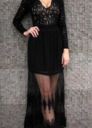 Красивейшая юбка макси1 фото