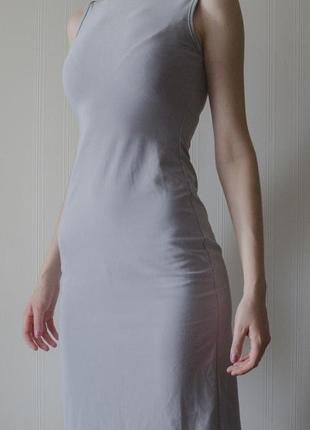 Платье миди h&m hennes