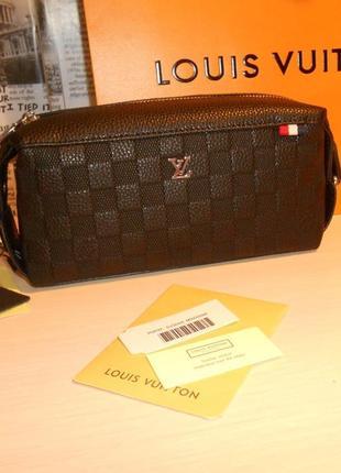 Мужская сумка клатч барсетка  кожа, франция 703