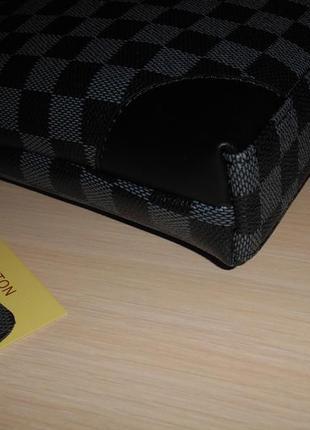 Сумка мужская планшетка в стиле louis vuitton кожа, франция 147-23 фото
