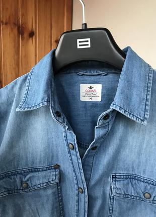 Джинсовая рубашка colin's2 фото