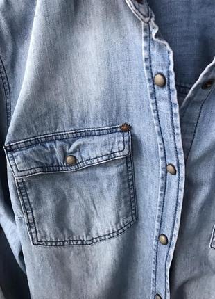 Джинсовая рубашка colin's3 фото