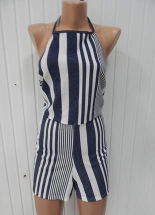 Женский летний комбинезон с шортами boohoo