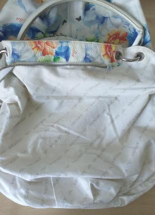 Arcadia (italy) цветная кожаная сумка4 фото