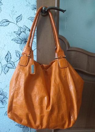 Abro кожаная сумка - шоппер