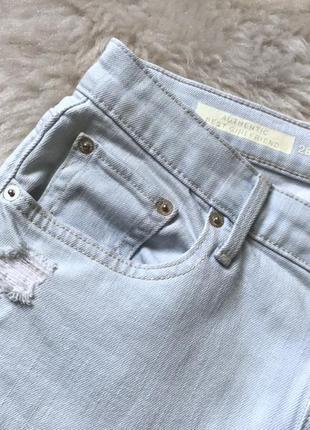 624 фирменные рваные джинсы гёрлфренды дорого бренда gap5 фото