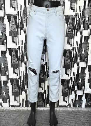 624 фирменные рваные джинсы гёрлфренды дорого бренда gap