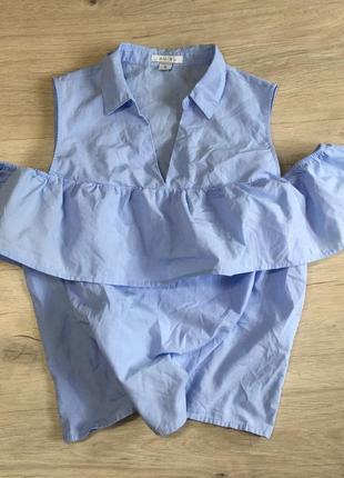 Рубашка с воланами