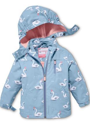 Демисезонная куртка-ветровка tchibo, германия - р. 110-122