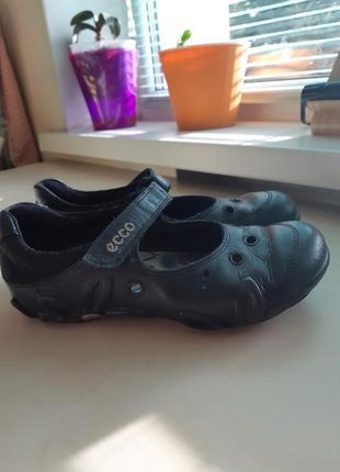 Кожаные туфли ecco р-р36
