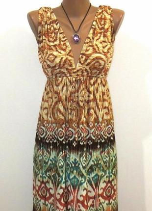 Женственный стильный сарафан от mass размер: 42-44, xs-s