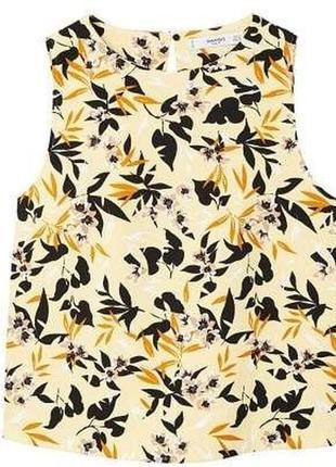 Блуза с цветочным принтом mango