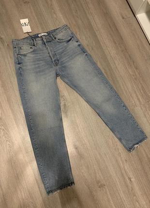 Мужские джинсы zara новая коллекция