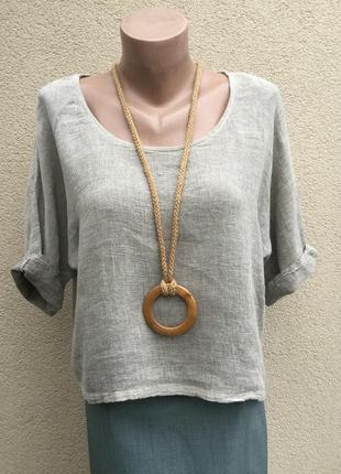 Блуза,рубаха реглан,в этно,бохо стиле ,хлопок+лён,дизайнер,nina kendosa,италия