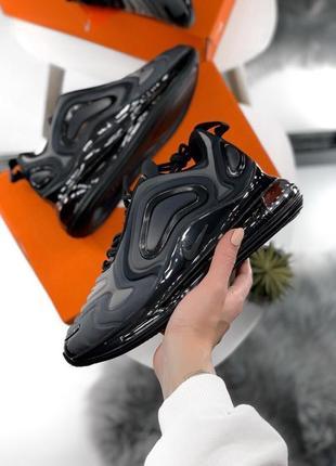 Шикарные женские кроссовки nike air max 720 dark gray