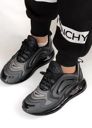 Шикарные женские кроссовки nike air max 720 dark gray4 фото