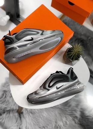 Шикарные женские кроссовки nike air max 720 gray3 фото