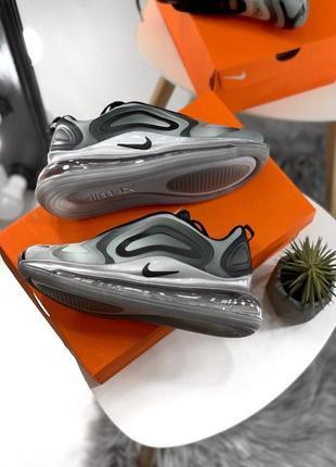 Шикарные женские кроссовки nike air max 720 gray7 фото