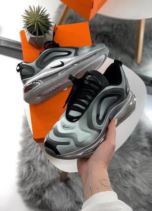 Шикарные женские кроссовки nike air max 720 gray4 фото
