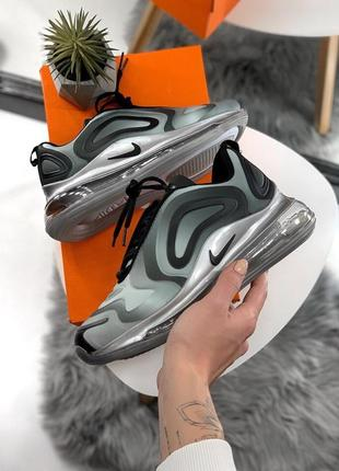 Шикарные женские кроссовки nike air max 720 gray