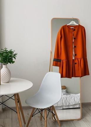 Контрастное итальянское пальто