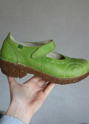 Р.37 el naturalista (оригинал) кожаные туфли.