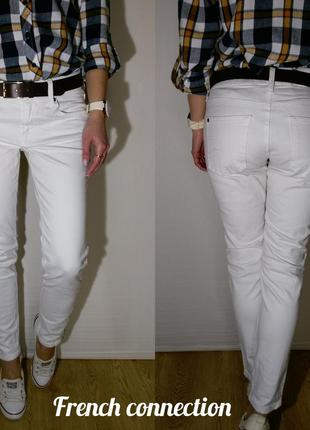 Классные плотные джинсы french connection