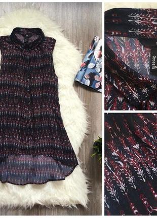 Удлинённая блуза от h&m
